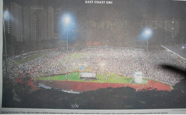 The Straits Times 1 May 2011