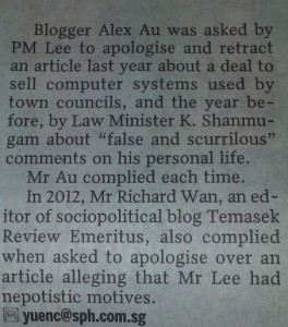 Straits Times 20 May 2014