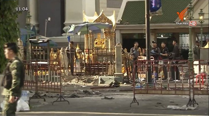 Erawan Shrine aftermath